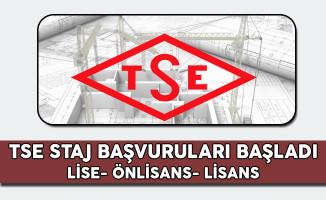 Türk Standardları Enstitüsü (TSE) Staj Başvuruları Başladı