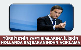 Türkiye'nin Yaptırımlarına İlişkin Hollanda Başbakanından İlk Açıklama