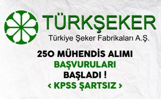 Türkiye Şeker Fabrikaları 250 Personel Alımı Başvuruları Başladı