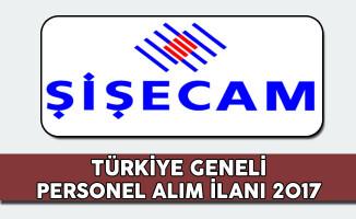 Türkiye Şişe ve Cam Fabrikaları Personel Alım İlanı