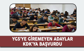YGS'ye Giremeyen Adaylar KDK'ya Başvurdu