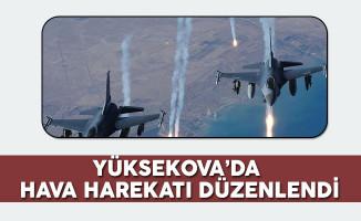 Yüksekova'da Hava Harekatı