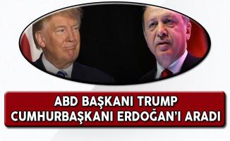 ABD Başkanı Trump'dan Cumhurbaşkanı Erdoğan'a Tebrik Telefonu