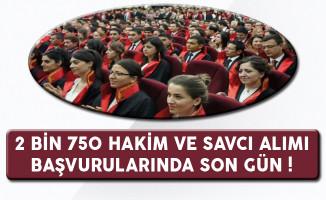 Adalet Bakanlığı 2 Bin 750 Hakim ve Savcı Adayı Alımında Son Gün !