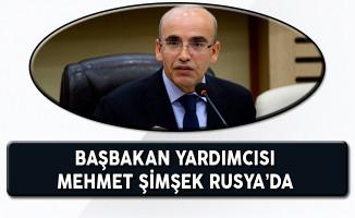 Başbakan Yardımcısı Mehmet Şimşek Rusya'da Temaslarda Bulunuyor