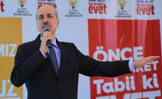 Başbakan Yardımcısı Numan Kurtulmuş'tan Referandum Açıklaması