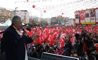 Başbakan Yıldırım: Türkiye Cumhuriyeti Devleti Her Zaman Arkanızda Olacaktır