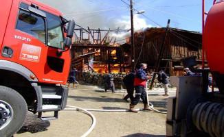 Çankırı'nın 45 Haneli Köyünde 25 Ev Yandı