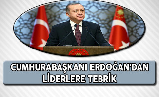 Cumhurbaşkanı Erdoğan Liderleri Referandum Zaferine İlişkin Tebrik Etti