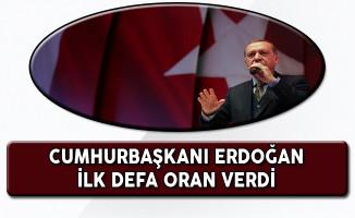 Cumhurbaşkanı Erdoğan: Referandum Sonucu Tahmini İlk Kez Rakam Belirtti!