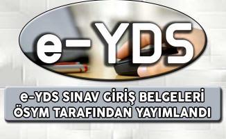e - YDS 2017/4 Sınav Giriş Belgeleri ÖSYM Tarafından Yayımlandı