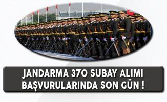 Jandarma 370 Kadın ve Erkek Subay Alımı Sona Eriyor