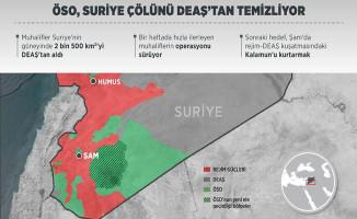 ÖSO Suriye'nin Güneyini DEAŞ'tan Temizliyor