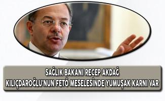 Sağlık Bakanı Akdağ: Kılıçdaroğlu'nun FETÖ Meselesinde Yumuşak Karnı Var