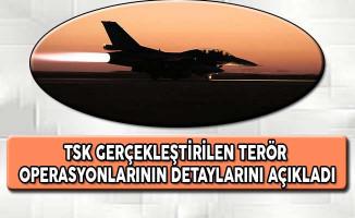 TSK Gerçekleştirilen Terör Operasyonlarının Detaylarını Açıkladı