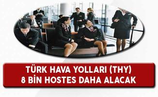 Türk Hava Yolları (THY) 2023'e Kadar 8 Bin Kabin Memuru İstihdam Edecek