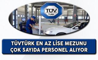 TÜVTÜRK Türkiye Geneli Personel Alım İlanı