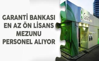 Garanti Bankası Müşteri Temsilcisi Alım İlanı