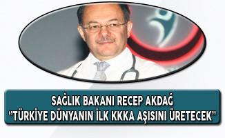 Türkiye Dünyanın İlk KKKA Aşısını Üretecek