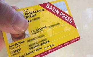 353 Basın Mensubuna İlk Kez, 78 Gazeteciye Sürekli Basın Kartı Verildi