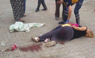 Okul Yolunda Vahşet! Kızı Kucağında Öldü