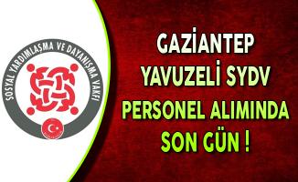 Gaziantep Yavuzeli SYDV Kamu Personel Alımında Son Gün !