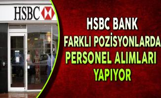 HSBC Bank Farklı Pozisyonlarda Personel Alımları Yapıyor