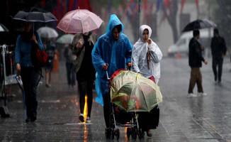 Meteoroloji İki İlimiz İçin Kuvvetli Yağış Uyarısı Yaptı