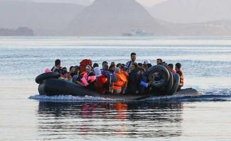 Midilli Adasına Kaçmaya Çalışan Çok Sayıda Göçmen Yakalandı!