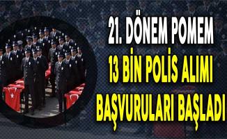 Polis Akademisi 13 Bin Polis Alımı Başvuruları Başladı