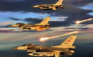 TSK'dan Hava Harekatı: PKK'nın Mühimmat Depoları İmha Edildi