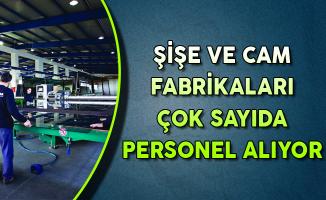 Türkiye Şişe ve Cam Fabrikaları Eylül Ayında Yüzlerce Personel Alıyor