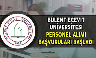 Bülent Ecevit Üniversitesi Sözleşmeli Personel Alımı Başvuruları Başladı