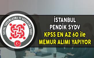 İstanbul Pendik SYDV Memur Alımı Yapıyor