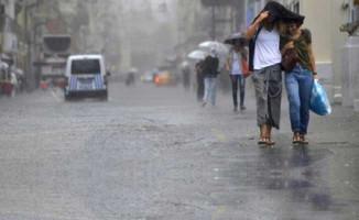 Meteorolojiden  Yağmur Uyarısı Geldi
