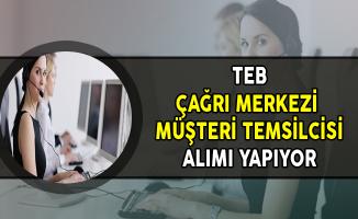 Türk Ekonomi Bankası (TEB) Çağrı Merkezi Müşteri Temsilcisi Alıyor