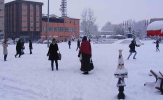 Kar Yağışından Dolayı Okulların Tatil Edildiği İller !