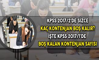 KPSS 2017/1'de Boş Kalan Kontenjan Sayısına Göre 2017/2 Atamalarını Değerlendiriyoruz