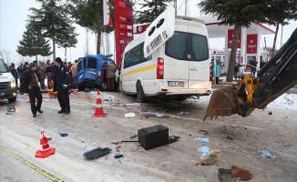 Jandarma Aracı Trafik Kazası Yaptı! Yaralı Askerler Var