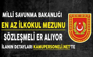 Türk Silahlı Kuvvetleri (TSK) En Az İlkokul Mezunu Sözleşmeli Er Alımı Yapıyor