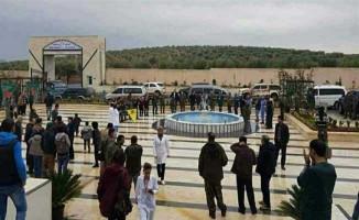 PKK Afrin'de Hastane Açtı