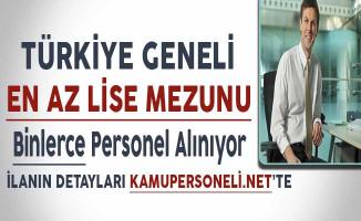 Türkiye Geneli Farklı Firmalara En Az Lise Mezunu Binlerce Büro Memuru Alınıyor