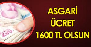 2017 Yılı Asgari Ücret ile İlgili Türk-İş'ten Flaş Açıklamalar!