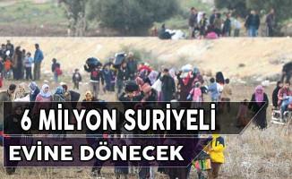 6 Milyon Suriyeli Mülteci Evine Dönecek