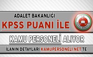 Adalet Bakanlığı Bilişim Personeli Alımı Yapıyor ! KPSS Şartı Var...