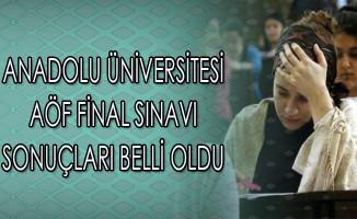 Anadolu Üniversitesi AÖF Final Sınavı Sonuçları Belli Oldu