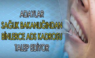 Binlerce Aday Sağlık Bakanlığından Ağız ve Diş Sağlığı Kadrosu İçin Atama Bekliyor !