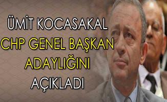 CHP Genel Başkanlığı İçin Ümit Kocasakal Adaylığını Açıkladı
