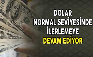Dolar Normal Seviyesinde İlerlemeye Devam Ediyor