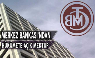 Merkez Bankası Hükümete Açık Mektup